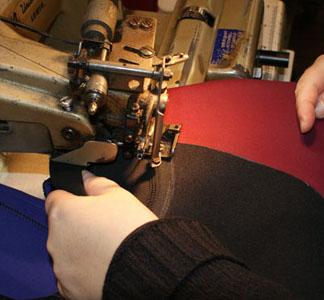 Blind stitching